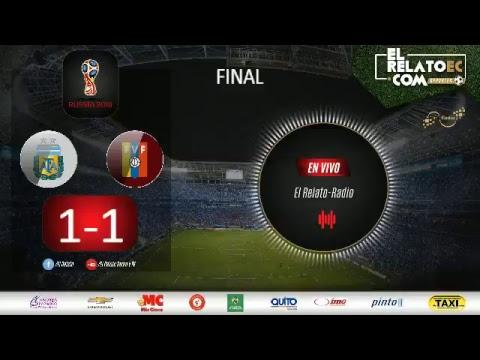 EN VIVO | Argentina vs Venezuela (formato radio propio)