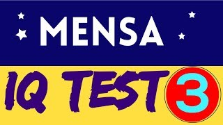 Mensa IQ Test (Intelligence Test ) : (10 Questions) - Part - 3