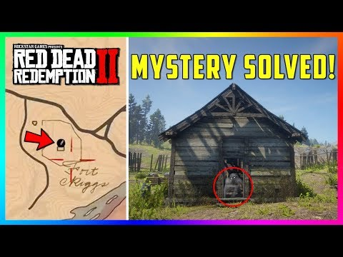There Is Something Hidden Inside Of Fort Riggs In Red Dead Redemption 2 That You Don't Know About! thumbnail