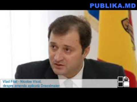 Vlad Filat   Nicolae Vicol, despre amenda aplicată Draexlmaier