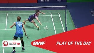Play of the Day | TOYOTA Thailand Open 2019 Finals | BWF 2019