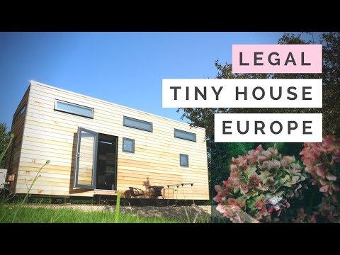 Tiny house built to meet building codes in EUROPE | France, Germany, Denmark, England..