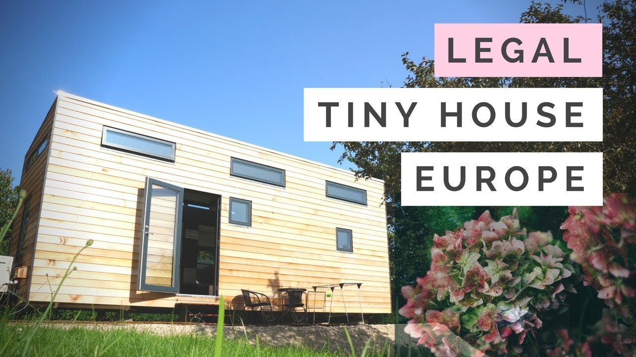 Tiny house built to meet building codes in EUROPE France