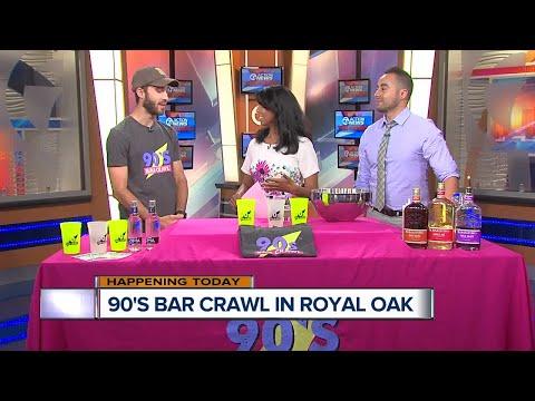90's Bar Crawl Comes to Royal Oak