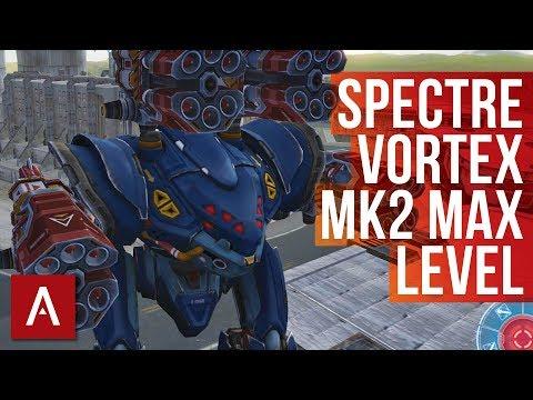 War Robots: SPECTRE VORTEX MK2 MAX LEVEL GAMEPLAY