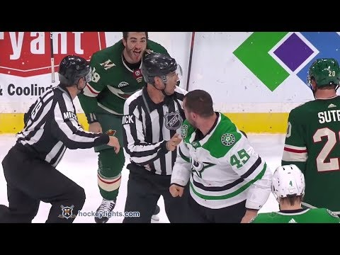 Roman Polak vs Luke Kunin December 22nd, 2018