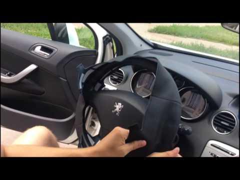 Обзор оплетки руля Peugeot 308