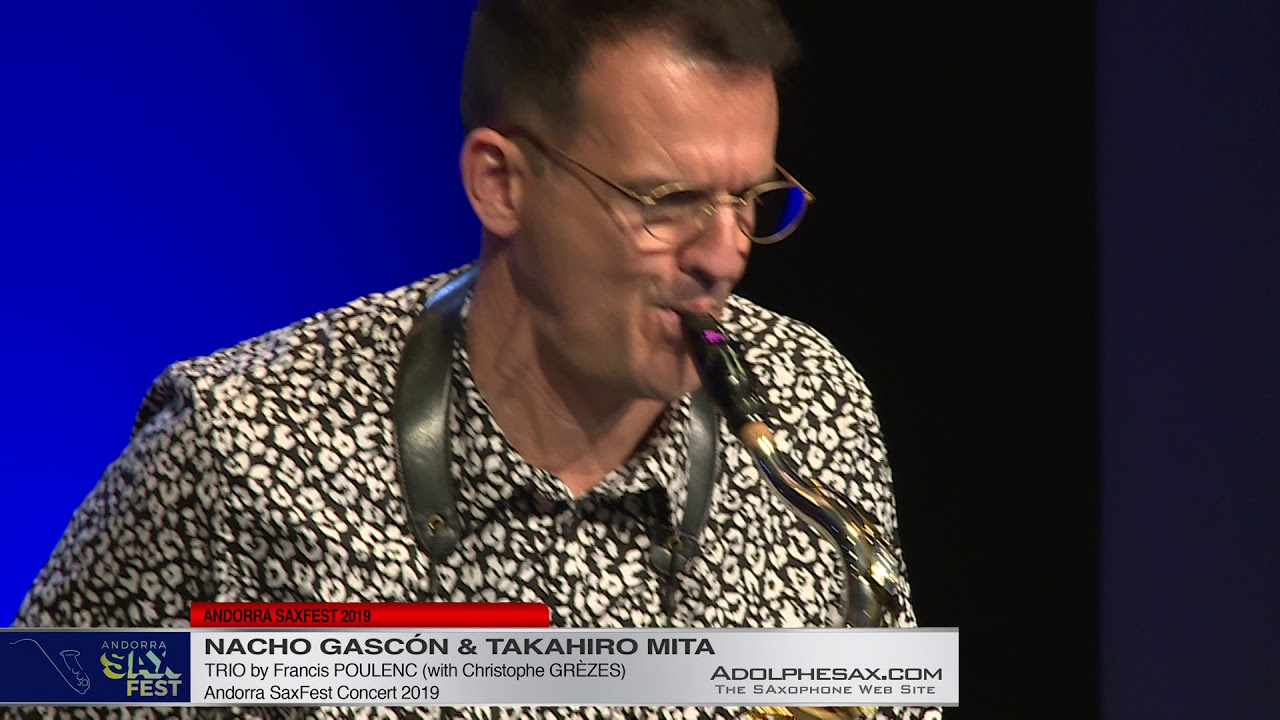 Nacho Gascon & Takahiro Mita - Trio by Francis Poulenc