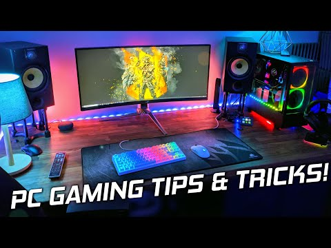 10 AWESOME PC Gaming Tips and Tricks For Your GAMING PC! 😁 (2020)