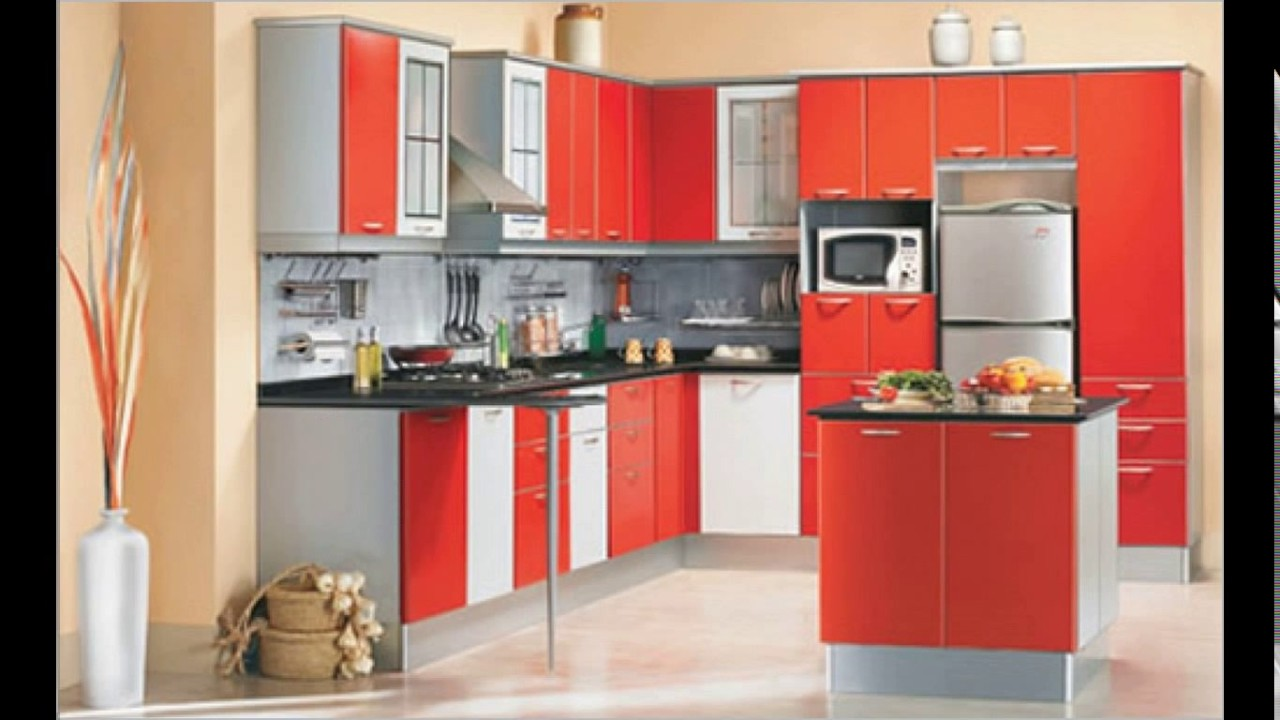 Kitchen design indian style youtube for Indian style kitchen design