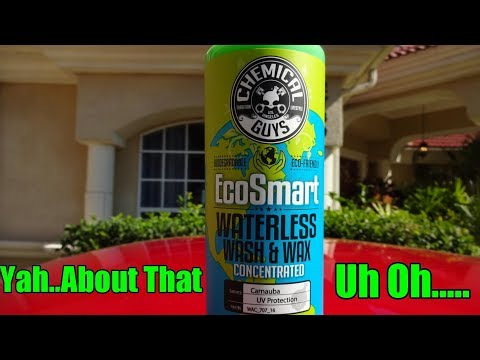 Chemical Guys EcoSmart Waterless Wash Review on my Nissan GTR.