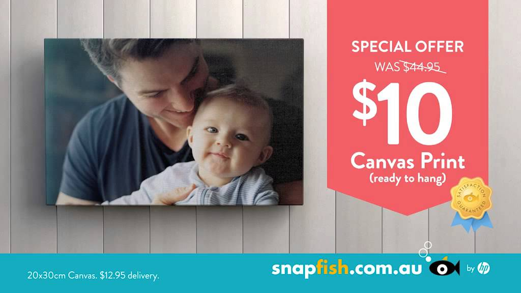 snapfish tv ad canvas prints offer may 2015 youtube