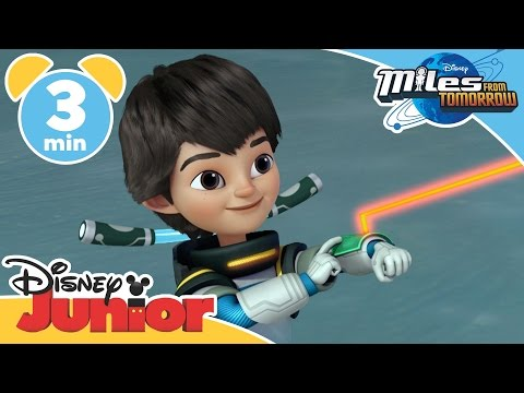 Miles From Tomorrow | Miles' Grandparents | Disney Junior UK