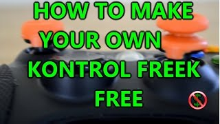 how to make kontrol freeks fps freeks joystick extenders for xbox one and xbox 360 free