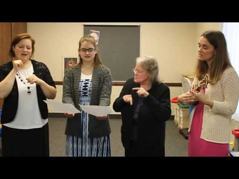 Walk tall, You're a Daughter of God (with ASL)