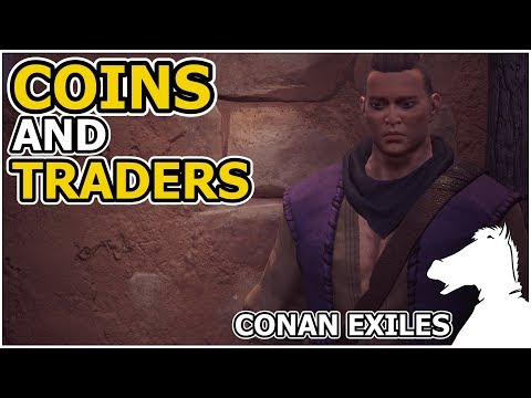 Coins and Traders OR How to craft coins! | CONAN EXILES