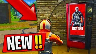 "THE NEW DISTRIBUTOR of ""FREE SKIN"" on FORTNITE Battle Royale! 😱 (CONCEPT)"