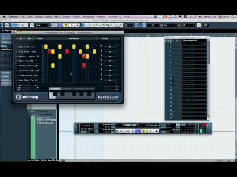 Cubase 5 Tutorial - Beatmaking with Groove Agent One and Beat Designer