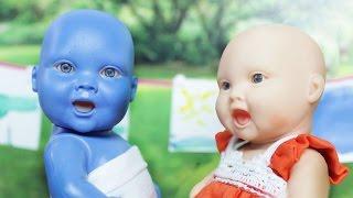 MIA FICOU AZUL! -  Lilly Doll