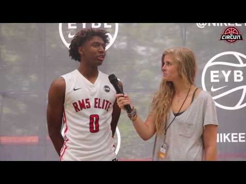 Peach Jam Interview with Tyrese Maxey of RM5 Elite TX