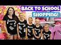 BACK TO SCHOOL CLOTHES SHOPPING TRIP!