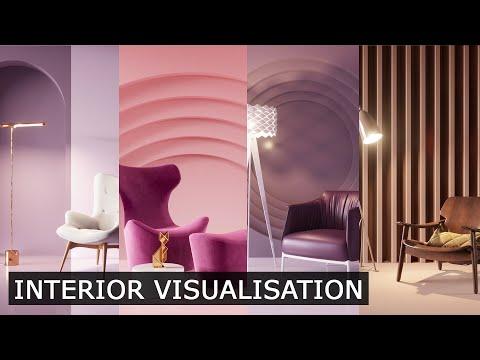 Interior 3Ds Max & Corona Render | Tutorial - Architectural Visualisation