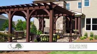 Outdoor Kitchen Design In Dallas Texas -- Plm Professional Landscape Management