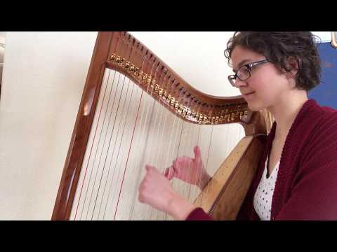 Song of the Evening Bell, Betty Paret's First Harp Book