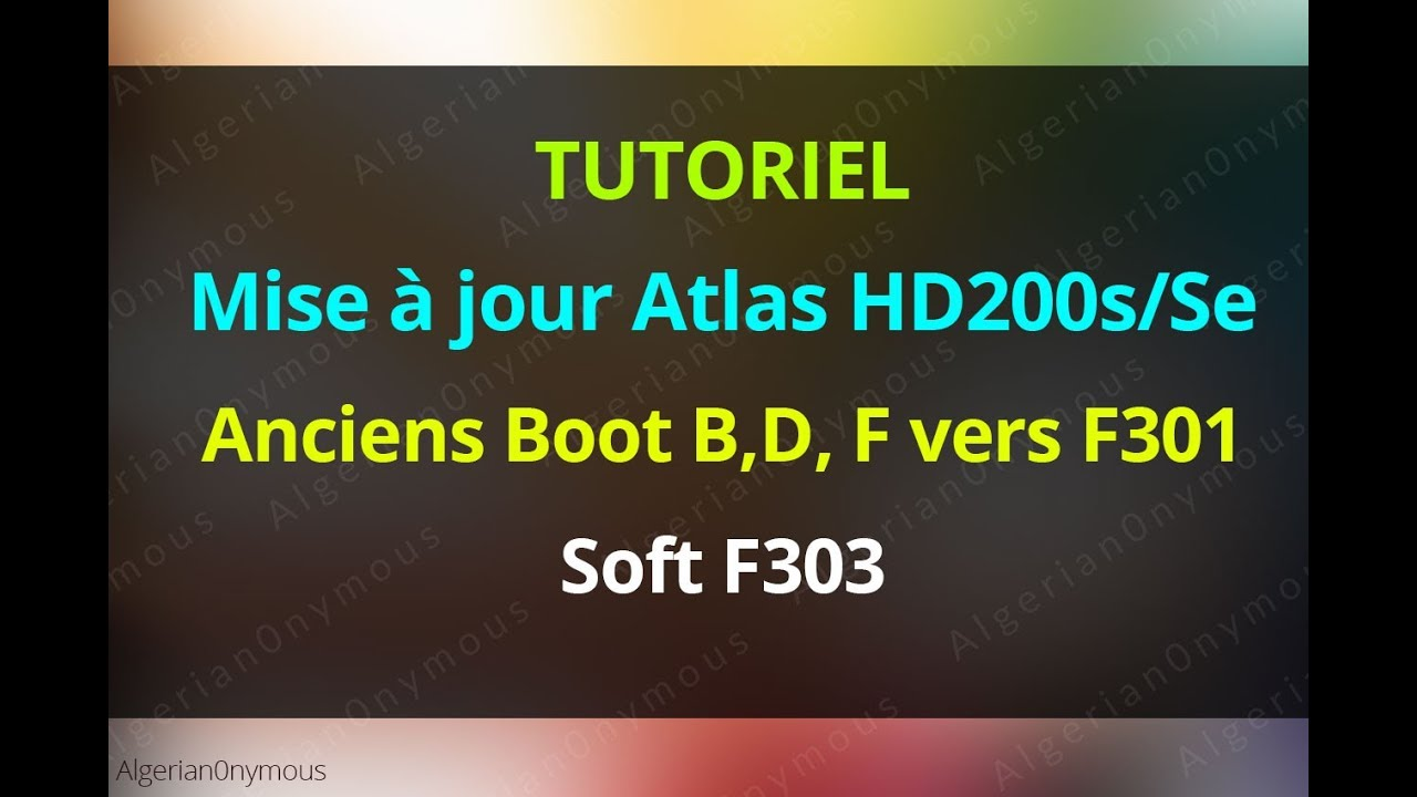 boot f301 atlas 200s