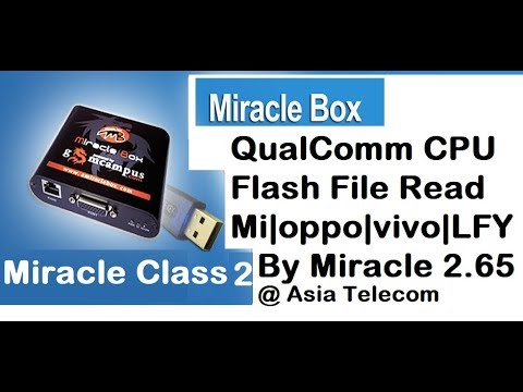 All Qualcomm CPU Flash File Read | M|LFY|Oppo|Vivo| QC Flash File Read-Save  by Miracle Box 2 65