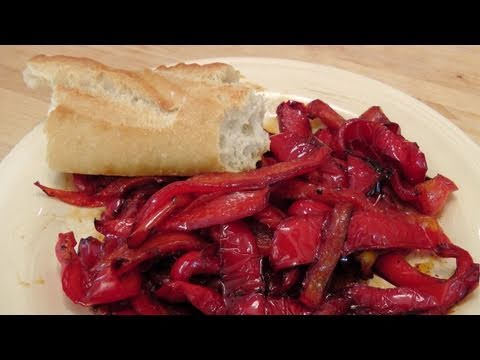 Italian Fried Peppers Recipe - by Laura Vitale - Laura in the Kitchen Episode 135