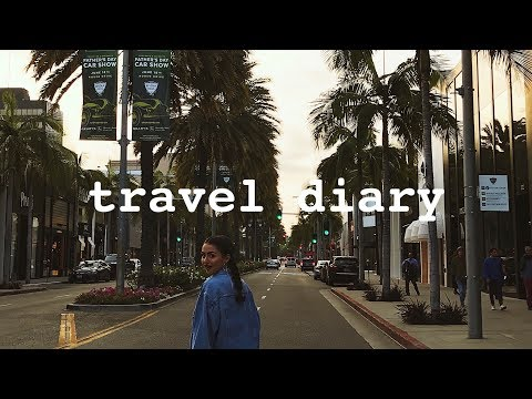 SOUTHERN CALIFORNIA TRAVEL DIARY