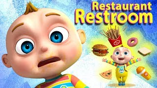 TooToo Boy - Restaurant Restroom Episode |Kids Comedy Series | Videogyan Kids Shows | Funny Cartoon