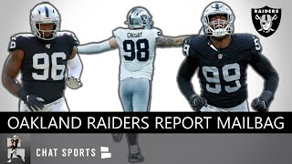 Raiders Rumors On Clelin Ferrell, Maxx Crosby, Arden Key In 2019 + Raiders vs. Bears Mailbag