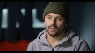 Baker Mayfield with Erin Andrews interview