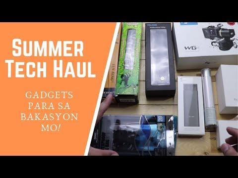 Summer Tech Haul - Ang Dami Nito!