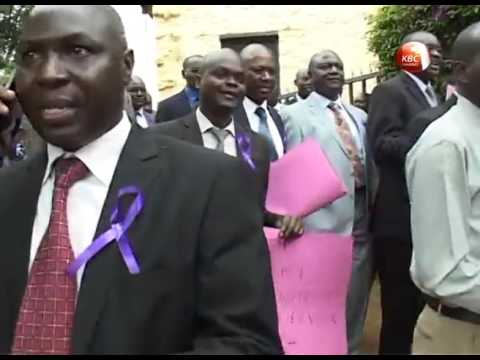 Civil society, lawyers in demos over Willie Kimani murder