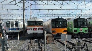 【プチ撮影会】東武車両 8000系、350系、50050系、10030系、1800系、634系、30000系 プチ撮影会 東武ファンフェスタは 11月19日に開催