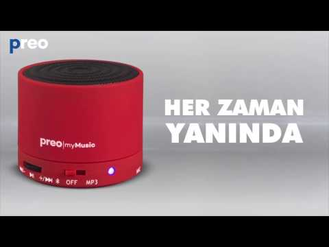 MM05 preo | mySound Bluetooth Taşınabilir Speaker