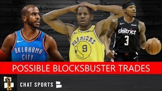 5 Potential NBA Blockbuster Trades Feat. Chris Paul, Bradley Beal, Danilo Gallinari & Andre Iguodala