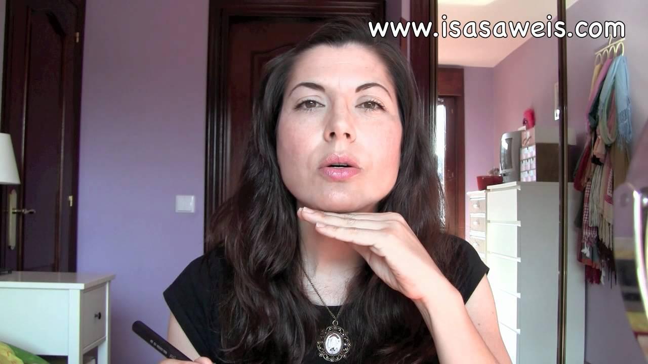 Cómo aplicar el contorno para una cara fina y alargada - YouTube