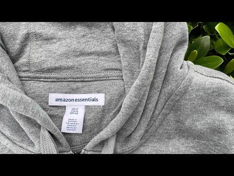 Amazon Essentials Men's Hooded Full Zip Fleece Sweatshirt Impressions