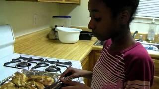 Cooking With Chef Clara (lemon Mustard Chicken) Part 2