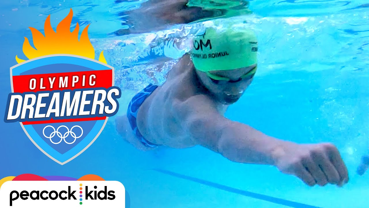 """""""Superman"""" Swimmer Breaks Michael Phelps' Record!   OLYMPIC DREAMERS"""