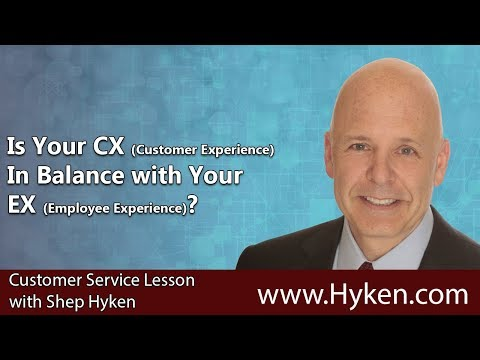 Is Your CX (Customer Experience) in Balance with Your Employee Experience? - CX Lesson
