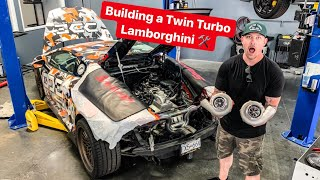 MY TWIN TURBO LAMBORGHINI WILL MAKE HOW MUCH ****WHP? *SHEEPEY RACE EP2*