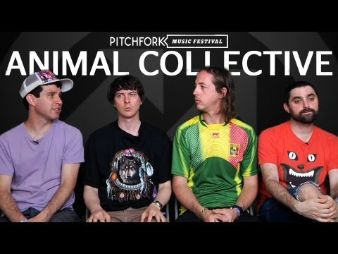 Animal Collective - Interview - Pitchfork Music Festival 2011