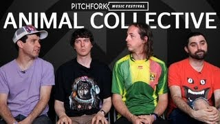 Animal Collective Interview Pitchfork Music Festival 2011