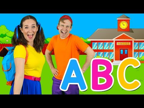 """Alphabet School"" - ABC School Song | Back to School - Learn alphabet, phonics & ABCs"