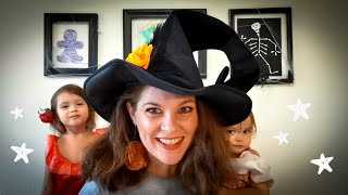 3 Spooky Crafts for Kids {Mummy~Spider~Skeleton} Halloween DIY Collab